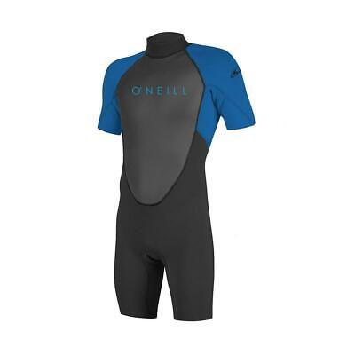 O'Neill Youth Childrens Reactor 2 Wetsuit  2mm Shorty Black/Ocean Ages 6,8 & 10