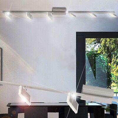 30 Watt Decken LED Balken Leuchte Esszimmer Küchen Lampe schwenkbar 6-flammig