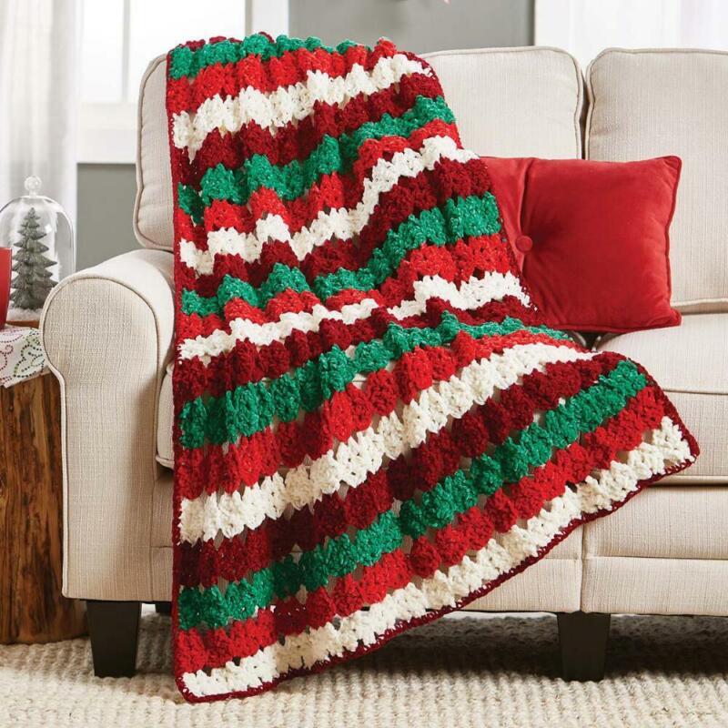 Herrschners® Jingle Jangle Afghan Kit