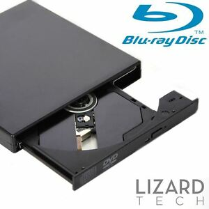 External USB 2.0 Blu-ray Combo Player BD-R BD-ROM DVD RW Burner Writer Drive