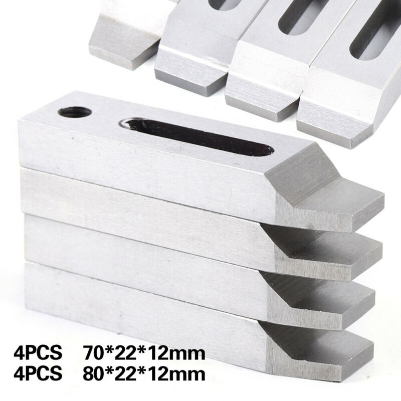 4pcs Wire EDM Stainless Jig Holder For Clamping Leveling CNC Set M8x1.25 Screw