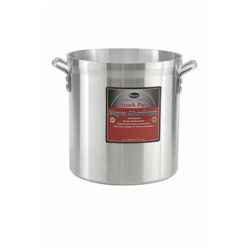 Winco AXHH-60, 60-Quart Super Aluminum Stock Pot
