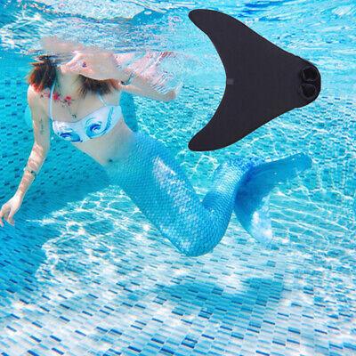 Kinder Mädchen Meerjungfrau Schwanzflosse Monoflosse Schwimmen Mermaid - Meerjungfrauen Schwanz