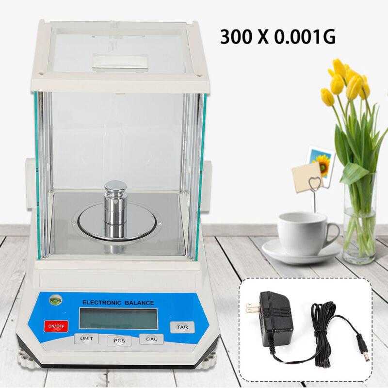 Analytical Balance 300x0.001g Lab Digital Electronic Precision Scale