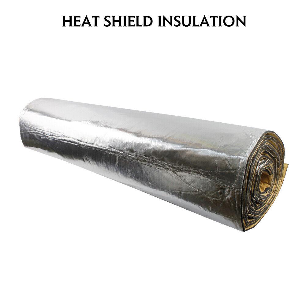 """Hood Bonnet Insulation Heat Shield Insulation Pad Sound Deadener Mat 48/""""x39/"""""""
