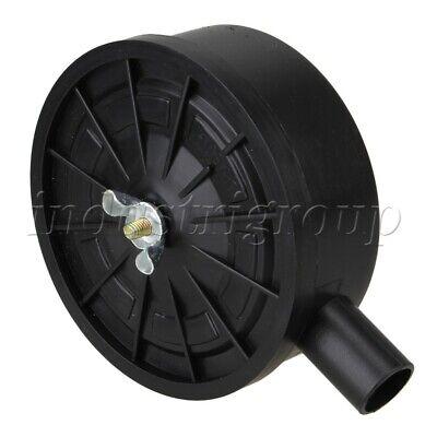 Plastic 0.76 Thread Air Compressor Intake Filter Muffler Black