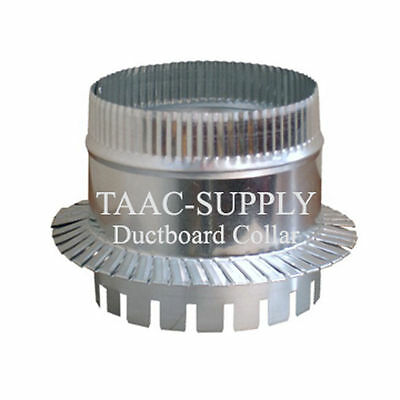 Sheet Metal Ductboard Take off Start COLLAR for HVAC Duct Work 10""