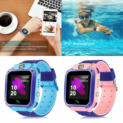 USA Smart Watch with GPS GSM Locator Touch Screen Tracker SOS for Kids - Smart Watch