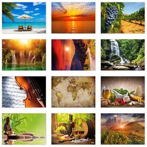 12 Stück Postkarten-Set, verschiedene Motive,  Ansichtskarten DIN A6 (PKT-008)