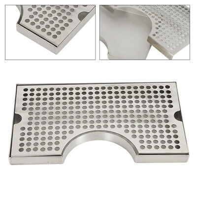 Surface Mount Drip Tray No Drain 304 Stainless Steel Homebrew Beer Drip Tray