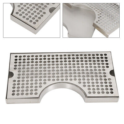 12 X 7 Stainless Steel Beer Kegerator Surface Tower Drip Tray Removable Grate