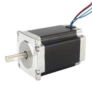 Nema 23 stepper motor mount cnc mill lathe router for Nema 34 stepper motor mount