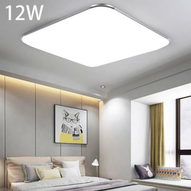 LED Deckenleuchte Deckenlampe 12W Wohnzimmer Badleuchte Küchen Lampe