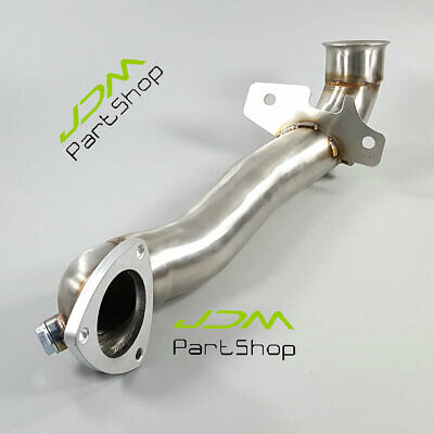 Inox Peugeot 207 GTi 1.6 16 V Turbo EXHAUST DECAT DE CAT removal pipe