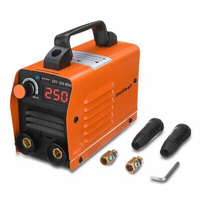 Minleaf Zx7 Electric Welding Machine Portable Mma-arc Dc Inverter Plastic Welder