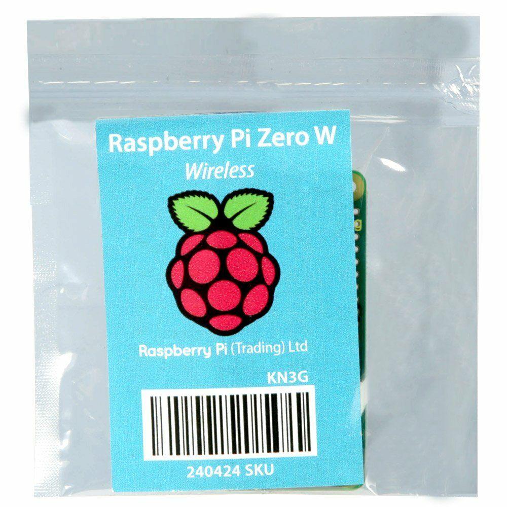 Raspberry Pi Zero W.
