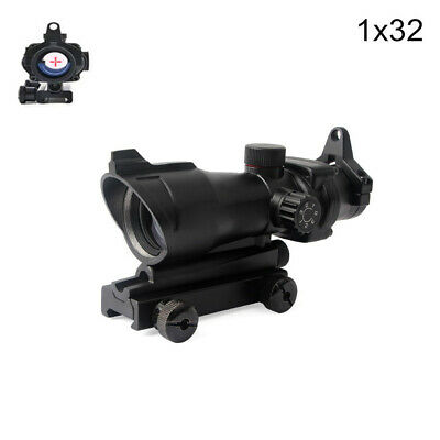 Tactical ACOG 1X32 Red Dot Sight Optical Red Dot Sight Scopes