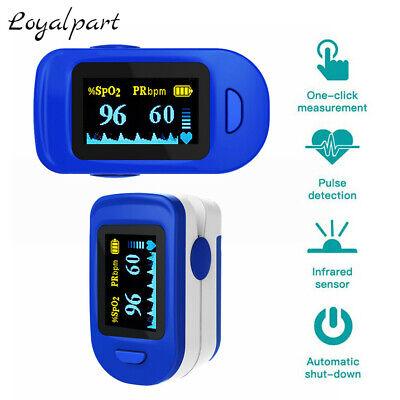 Oled Fingertip Pulse Oximeter Blood Oxygen Saturation Spo2 Heart Rate Monitor