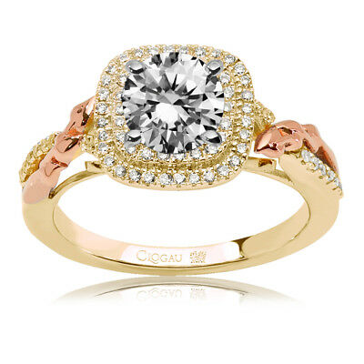 Clogau Compose 9ct Yellow Rose Gold Viola Engagement Ring £1510 off! 0.5ct.