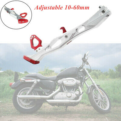 Red 10-60mm CNC Stand Supporter Kickstand Side Stand for Motorcycle