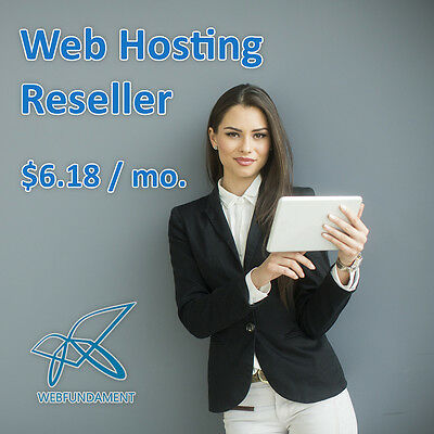 Reseller Web Hosting For Just 9.77mo From Webfundament.com