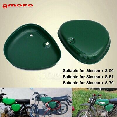 Motorbike Side Fairing Cover Panel Box Intake Lid Guard For Simson S50 S51 S70