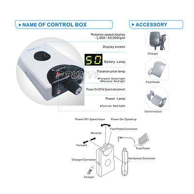 Cicada Dental Portable Electric Micro Motor Marathon Brushless Cv Mm-ii Pt