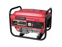 Trueshopping Petrol Generator Powerful Heavy Duty 4 Stroke 2.2KVA 2200W 6.5HP