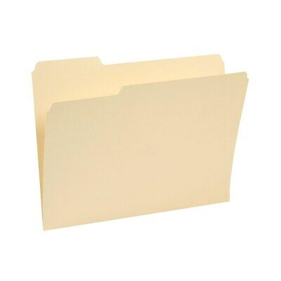 Staples 3-tab File Folders Letter Assorted Position Manila 250box 221689