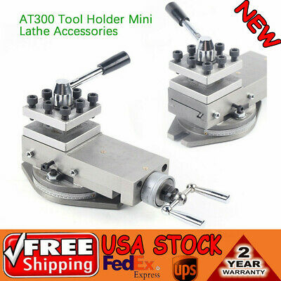 New 1at300 Lathe Tool Post Assembly Holder Mini Lathe Accessories Metal Change