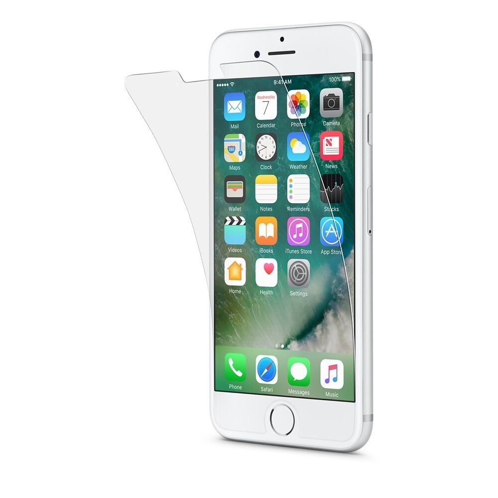 4x 100% Genuine Tempered Glass Screen Protector Protection For Apple iphone 6S 6