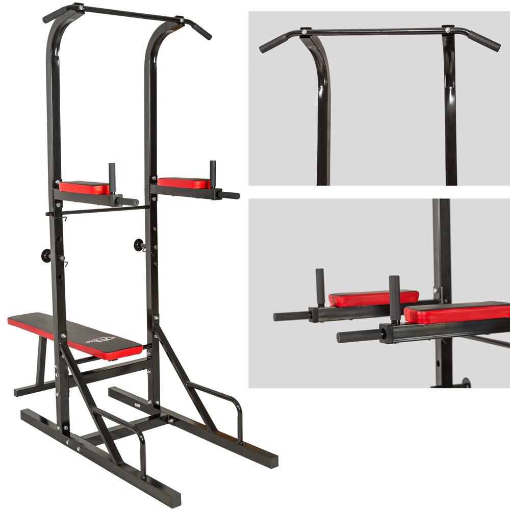 station de musculation exercices banc multifonction dips barre traction halt re eur 141 90. Black Bedroom Furniture Sets. Home Design Ideas