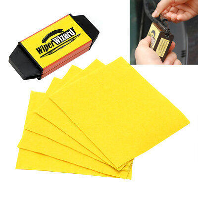 Car Windshield Wiper Blade Wizard Auto Windshield Scratch Restorer With Sponge