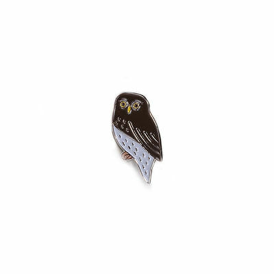Pygmy Owl Bird Metal Enamel Pin Badge