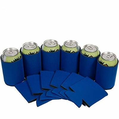 25 Royal Thermocoolers Blue Party Drink Blank Can Coolers