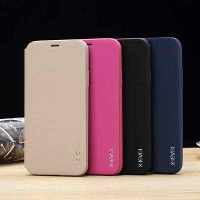 Ultra Thin Shockproof Leather Flip Wallet Case Cover For iPhone XS MAX XS XR 7 8