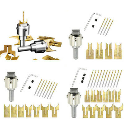 Multifunction Wood Beads Drill Bits Tools Set Milling Router Cutter Woodworking