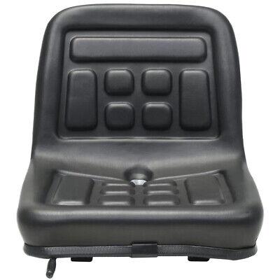 Tractor Seat Skid Steer Loader Lawn Garden Mower Seat W Drain Hole Waterproof