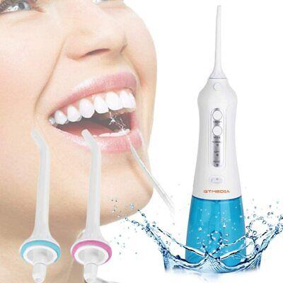 Irrigador Dental Profesional Portátil 300ml, Limpiador Dental USB Recargable