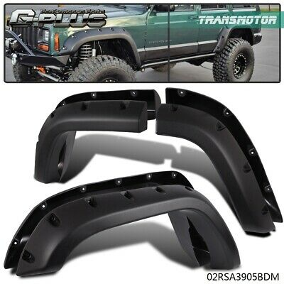 Fender Flares Fit For 84-01 Jeep Cherokee XJ Sport Utility 4-Door