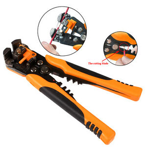 Automatic Wire Cutter Stripper Crimping Tool Pliers Electrical Cable Crimper HOT