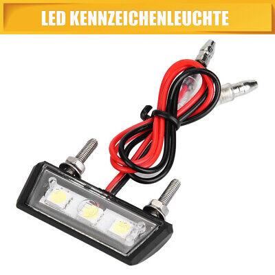 LED Kennzeichenbeleuchtung Nummernschild Beleuchtung Mini Motorrad Quad ATV PKW