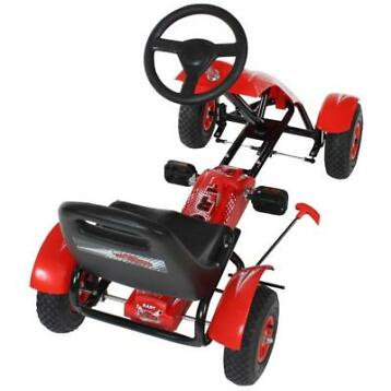 Go Kart Gokart Skelter Trapauto rood A401032