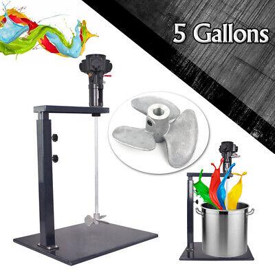 5 Gallons Pneumatic Mixer Blender Paint Stirrer Ink Mixing Machine Stirring Tool