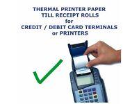 57mm x 40mm Thermal Paper Rolls for Credit Card Machine 20 rolls box