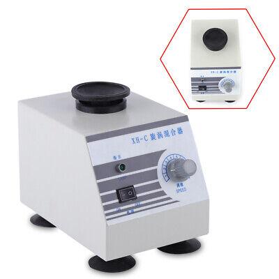 110v Stepless Vortex Mixer Test Tube Shaker Oscillator Lab Mixing Machine 30hz