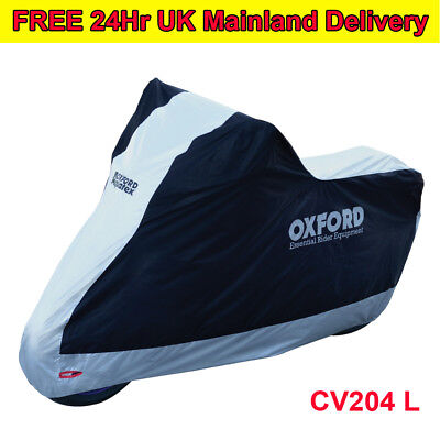 Oxford Aquatex Motorcycle Water Resistant Cover Breathable Motorbike Outdoor L