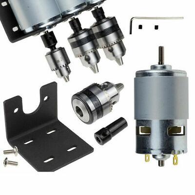 Dc12-24v 10000rpm 775 Motor Double Ball Bearings Mini Pcb Hand Drill Press Chuck