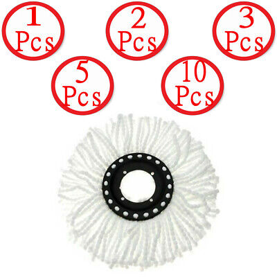 - Replacement Heads Easy Cleaning Mopping Wring Spin Mop Refill Mop LOT