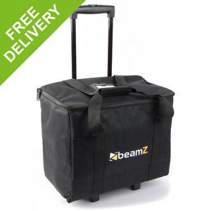 Beamz ACR-16 Stacking Soft Bag Lighting Trolley Case Mobile DJ Par Can Light Bag